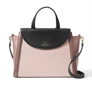 KATE SPADE COBBLE HILL ADRIEN COLORBLOCK SATCHEL